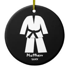 karate ornaments keepsake ornaments zazzle