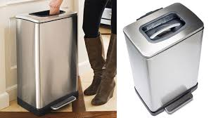 a garbage crushing bin you control with your bare hands gizmodo