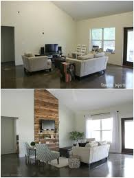 home design before and after eric and kelsey s budget living room makeover living rooms room