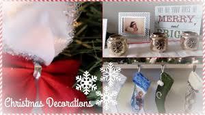 minimalist christmas home decoration tour youtube