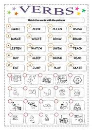 160 free esl verb phrase worksheets