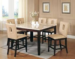 white counter height kitchen table and chairs counter height table leather chairs counter height dining table with