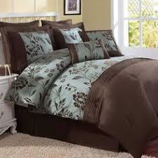 blue u0026 brown florence comforter set bedding pinterest blue