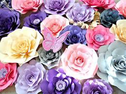 diy giant paper rose tutorial eden style template