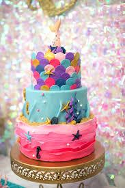 mermaid cake ideas kara s party ideas magical mermaid birthday party kara s party ideas