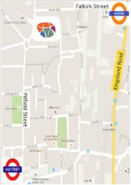 Occ Map Where To Find Us Osteopathic Centre For Children