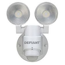 defiant led motion security light manual amazon com defiant 180 degree led motion security light musical