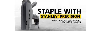 Staples Big Chair Event Stanley Tr250 Sharpshooter Plus Heavy Duty Staple Brad Nail Gun