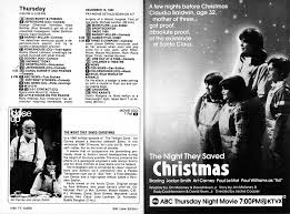 the they saved christmas a tv guide christmas season television in the 1970s