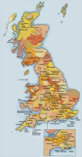Map Of Britian Map Of Britain Show Me A Map Of Britain Northern Europe Europe