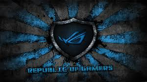 hd wallpaper computers asus blue asus rog sunburst 1920x1080 wallpaper high quality wallpapers