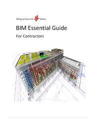 bim essential guide contractor revised 7 aug building