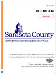 sarasota county zoning map meeting on update of county land regulations and