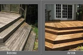 fence deck staining houston tx fence deck staining in