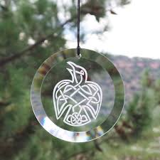 Egyptian Glass Christmas Ornaments Ornament Beveled Glass Ornaments Beautiful Etched Glass