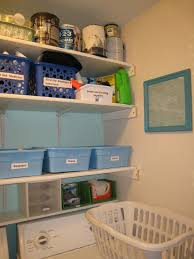 basement storage shelves photos laundry room shelves ideas a happy green laundry room