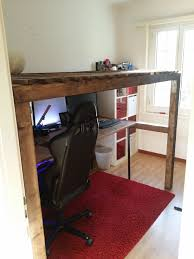 Make Bunk Bed Desk by Bunk Bed And Desk For A Small Room Album On Imgur