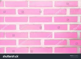 pink rectangle brick wall colorful pastel stock photo 471565664