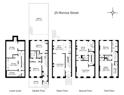 Apartment Designs And Floor Plans 8 Best Brownstone Floorplans Images On Pinterest Floor Plans