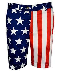 Mens Flag Shorts Loudmouth Stars U0026 Stripes Shorts Rockbottomgolf Com