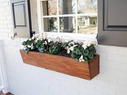 Window Box For Herbs Container Gardening Ideas From Joanna Gaines Hgtv U0027s Decorating