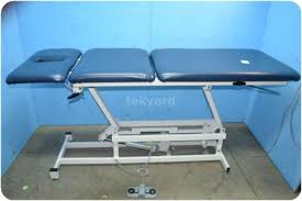 Physical Therapy Treatment Tables by Used Patterson Medical Performa A370541 Three Section High Low