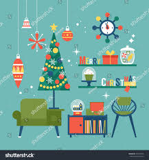 modern creative christmas greeting card design stock vector