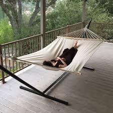 Hammock Swing With Stand Hanging Porch Hammock Swing