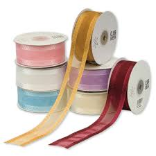 cake ribbon organza square edge ribbon 38mm cake decorators ribbon