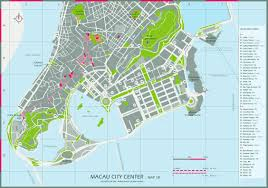Grand Central Map Maps Of Macau Detailed Macau Of Lebanon In English Tourist Map