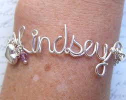 personalized name bracelets custom name bracelet etsy