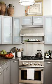 upper cabinets with glass doors frosted glass cabinets design ideas