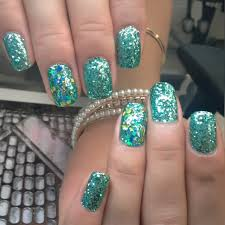 day 10 turquoise glitter nail art nails magazine