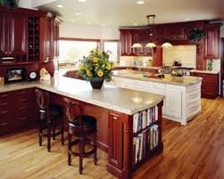 Hardwood Cabinets Kitchen by Ideas For Natural Wood Cabinets And Floors Should They Match