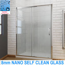 How Do I Clean Glass Shower Doors Bathroom Sliding Shower Door Enclosure Screen Cubicle 8mm Nano