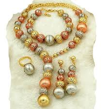 beads jewelry necklace images Necklace earrings bracelet rings beads jewelry sets for women jpg