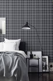 a modern minimal wallpaper design featuring a white grid pattern