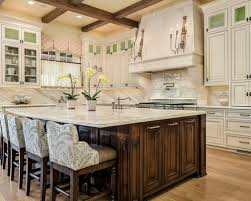 kitchen small modern kitchen design with half round top wooden