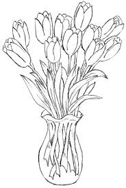 flower in vase drawing pictures images of flower vase drawings drawing art gallery