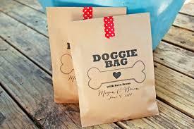 wedding treat bags wedding favors for dog popsugar pets