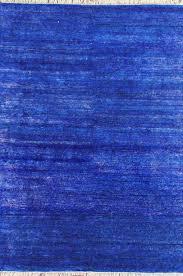 Sari Silk Rugs by Rugsville Eros Navy Blue Sari Silk 13873 Rug Rugsville Com