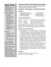 Sample Resume For Customer Service Representative For Call Center by Download Winning Resume Haadyaooverbayresort Com