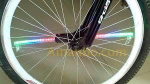 Monkey Bike Lights Yq8003 New Programable Led Bicycle Parts Colorful Monkey Light