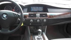 bmw 528 xi 2008 bmw 528xi black stock z57524 interior