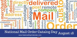 it s national mail order catalog day