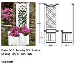 planter boxes dennisville fence