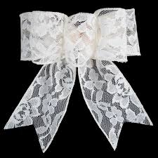 wedding bows wedding bows lace bows wired ivory wedding lace gift bow 6 inch