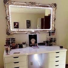 vanity mirror with lights for bedroom vanity mirror with desk lights 8 steps with pictures within vanity