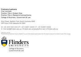 guidelines flinders university