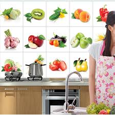 Sticker For Tiles Kitchen - compare prices on kitchen tile wall stickers online shopping buy